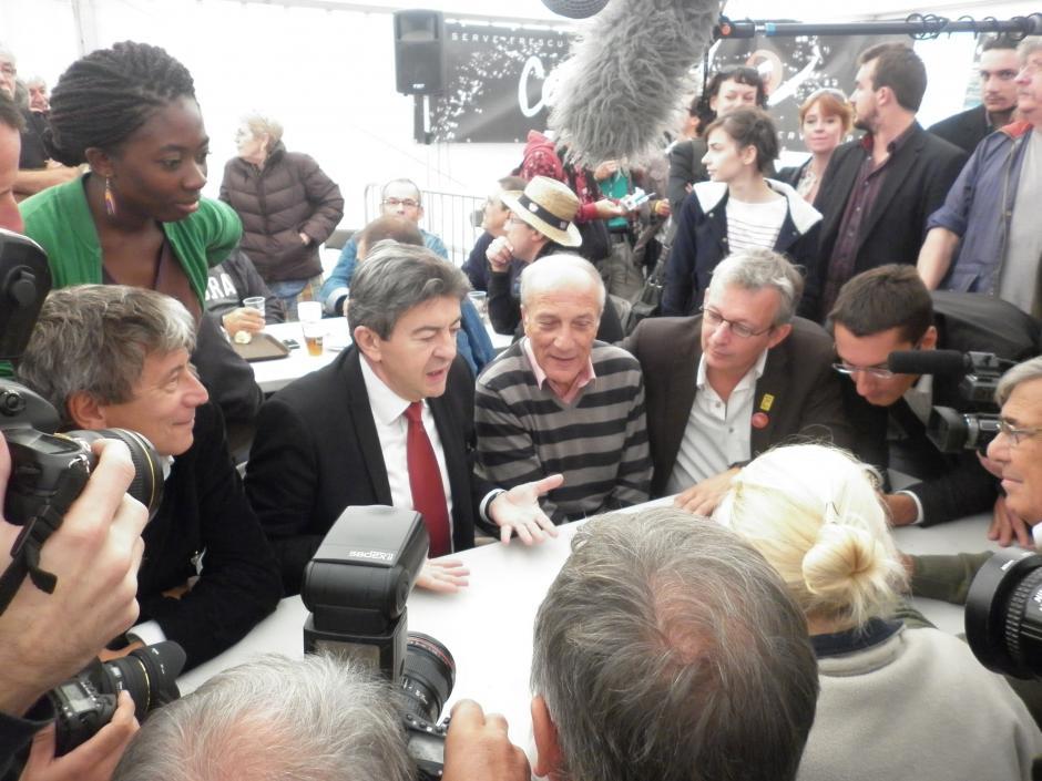 Michel Stefani : « le candidat des communistes c'est Jean Luc Mélenchon »