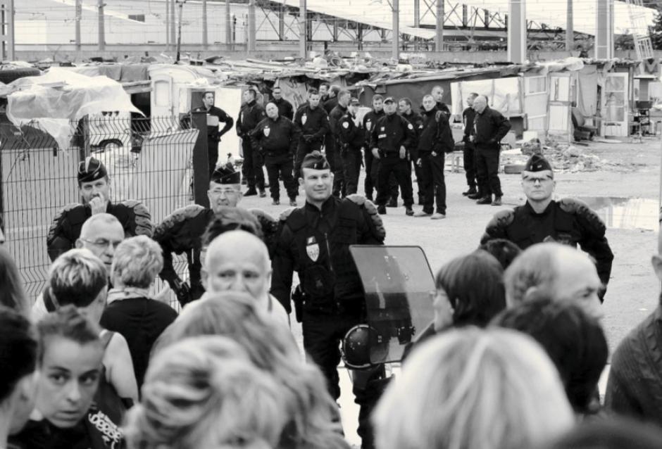 12e arr. de Marseille. Les familles expulsées manu militari
