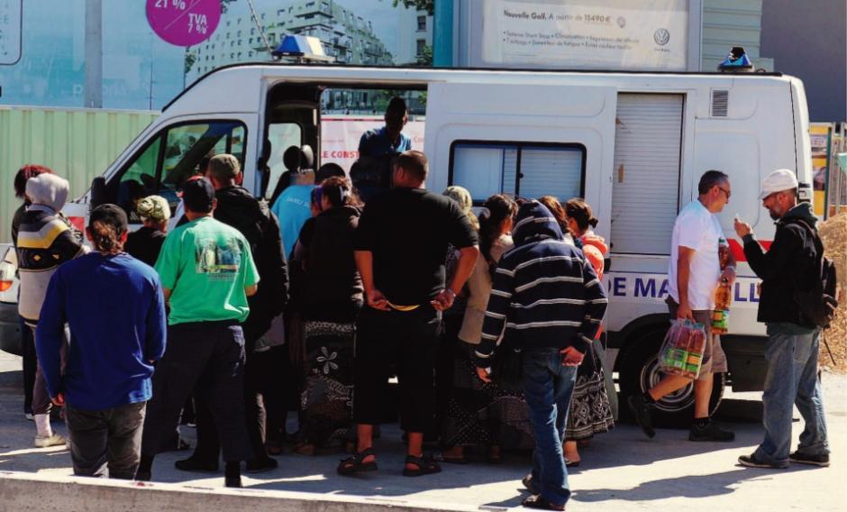 Marseille. Traqués et condamnés à l'errance
